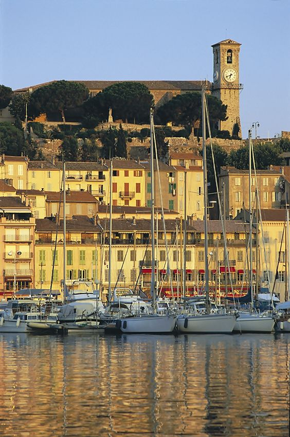 Old Harbor Le Suquet | Cannes | France.