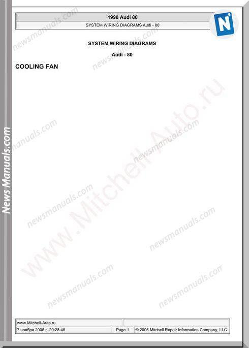 Audi 80 1990 Wiring Diagram Diagram Audi Diagram Online