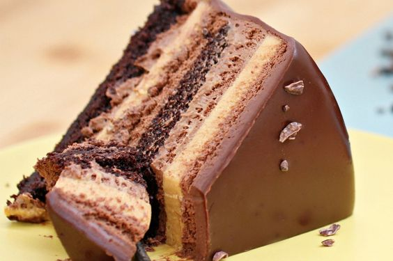 Caramel, Mousse and Organic chocolate on Pinterest