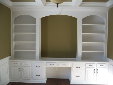 Luxury Home Home fice Custom Built Wall Unit Book