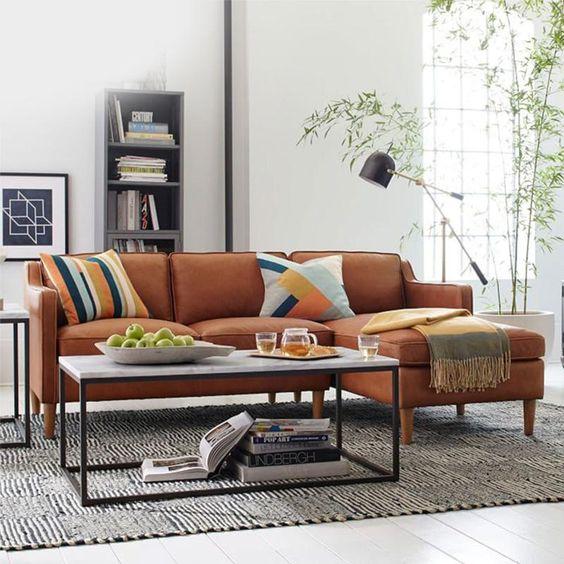 Bán sofa da thật tphcm mang tính nghệ thuật tiêng biệt trong trang trí