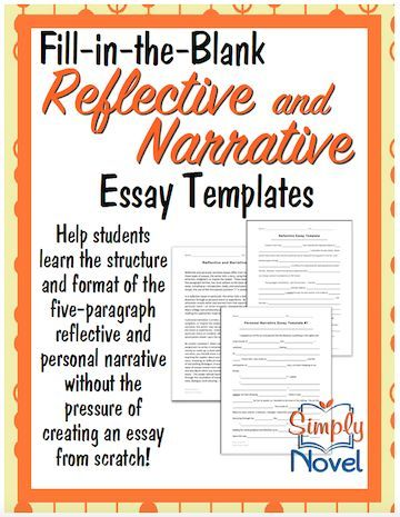 Reflective narrative essay examples