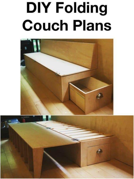 35 Space Saving Diy Hidden Storage Ideas For Every Room Diy Hidden Storage Ideas Diy Furniture Couch Diy Furniture