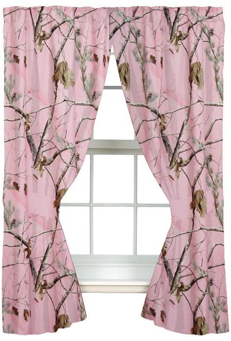 Curtains Ideas cheap camo curtains : Girls Realtree® AP Pink Camo Curtains | Love this, Love and Girls