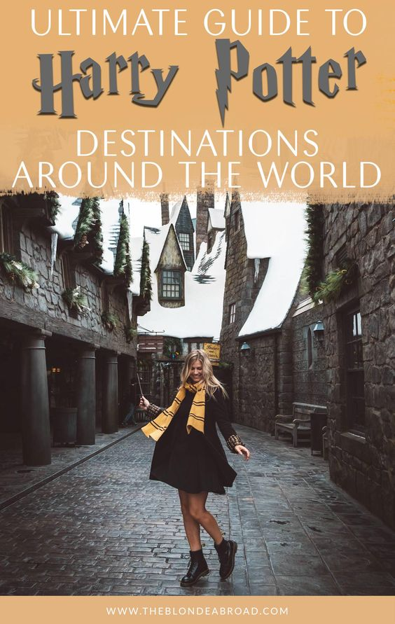 The Ultimate Guide To Harry Potter Destinations Around The World The Blonde Abroad Harry Potter Travel Harry Potter Studio Tour Harry Potter Places