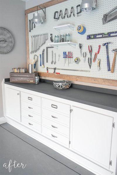 garage peg board
