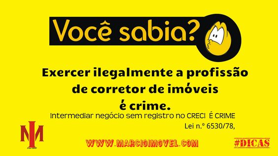 Boa tarde, fique atento!!!  #www.marcioimovel.com