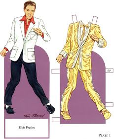 WES BRYAN - My Life In Music: FROM OUR ARCHIVES : ELVIS PAPER DOLL GOLD SUIT