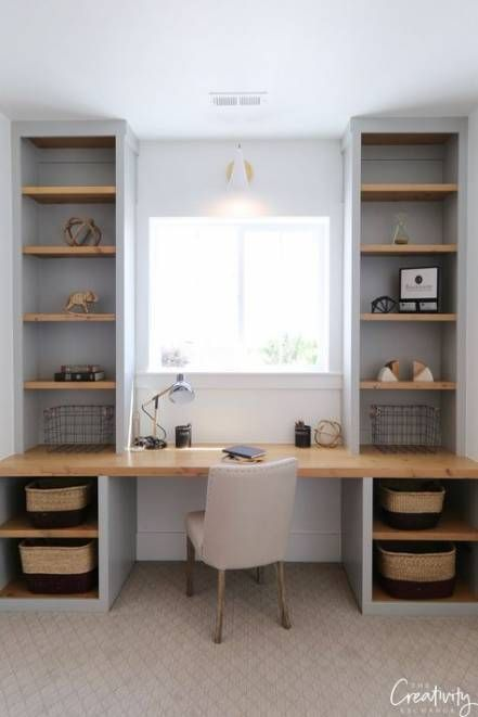 Bedroom Desk Built In Study Areas 67 Ideas For 2019 In 2020 Home Office Layouts Home Office Design Desk Nook