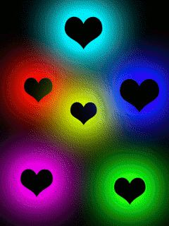 hearts animation free wallpaper cell phone wallpapers