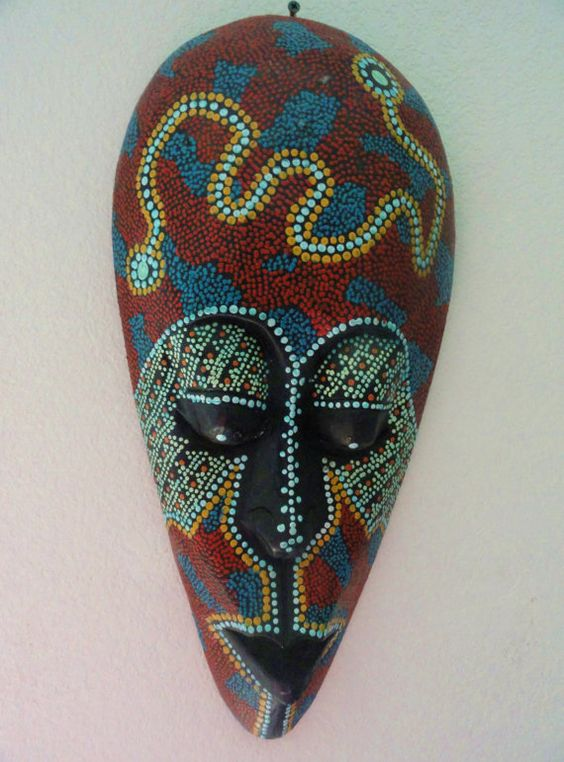 pics for gt colorful african tribal masks