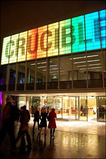 Crucible Theatre, Sheffield.