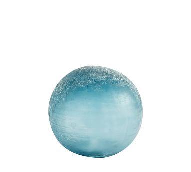 Lit Colorful Orb, Smal,l Blue