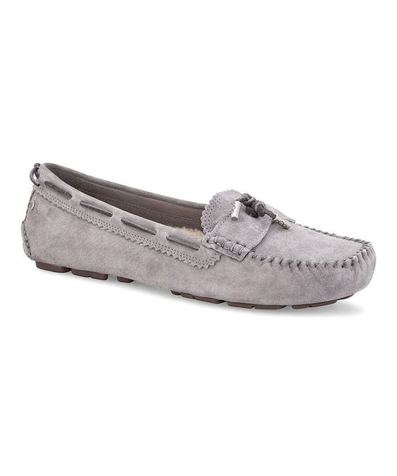 Take a look at this Cobblestone Roni Moccasin - Women on zulily today!