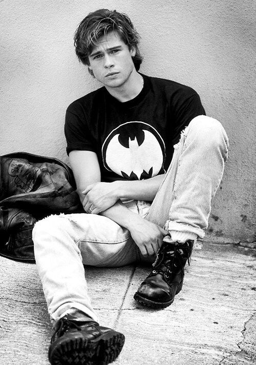 Young Brad Pitt