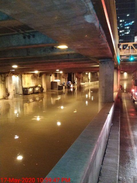 Chicago Sees Record Rainfall Power Outages No Room In Lake For