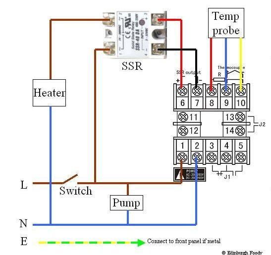 Edinburgh Foody Sous Vide Wiring Diagram Electrical Circuit Diagram Electrical Wiring Electrical Wiring Diagram