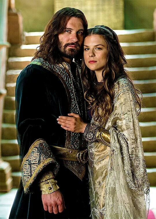 New loves! Rollo and Gisla. The Vikings