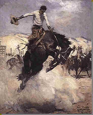 buckin horse