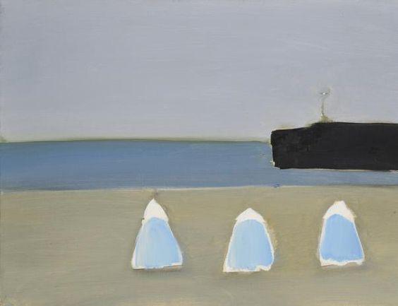 Nicolas de Stael, Calais, 1954, oil on canvas