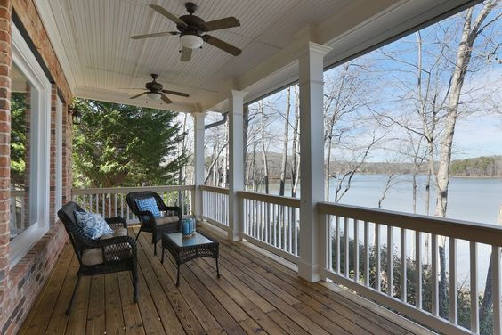 Home is best when shared with people you love -- especially if it's beside the lake.
