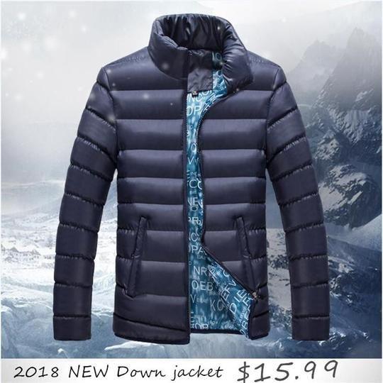 2018 New Jackets Parka Men Quality Autumn Winter Warm