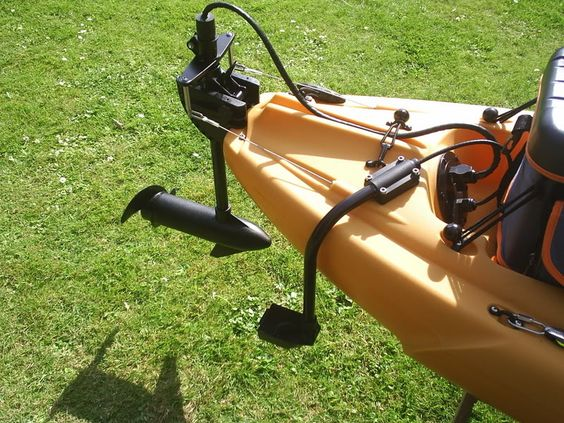 Kayaks google and search on pinterest for Kayak electric trolling motor