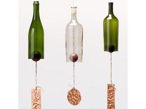 wine bottle bell chimes