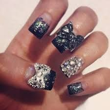 Image result for clear nail art designs