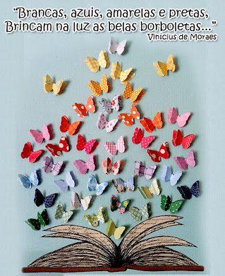mural de primavera com borboletas de papel:
