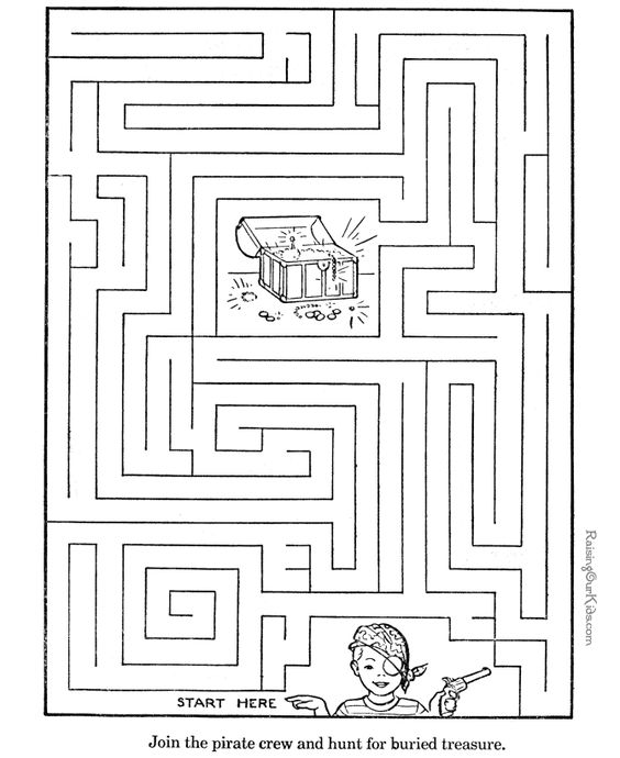 activities for children | Printable mazes for kids are fun, but ...