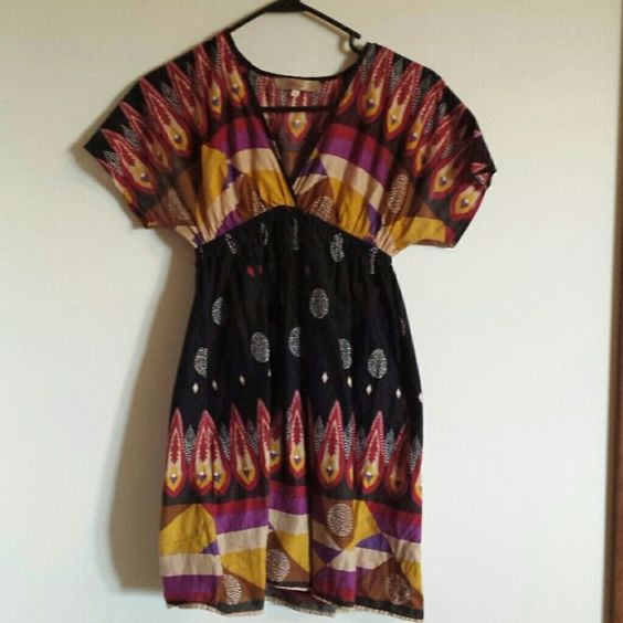 Bohemian blouse Slightly worn. Offers accepted :) Miuse Tops Blouses