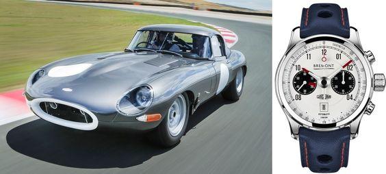 Bremont Jaguar MKII & Jaguar Lightweight E-Type