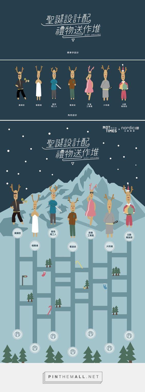 2016 MOTtimes Christmas Project | 聖誕設計配,禮物送作堆 on Behance - created via https://pinthemall.net