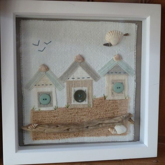 Three little huts  £22.00