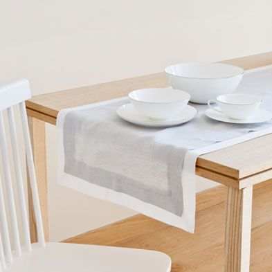 Table runners tableware zara home united kingdom h for Table zara home
