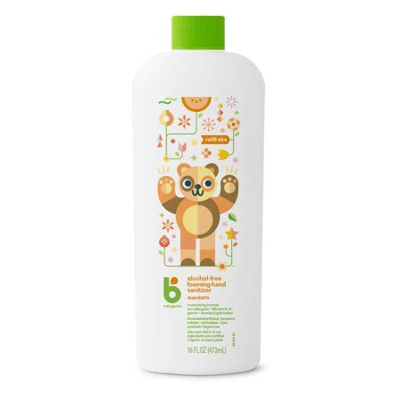Babyganics Alcohol Free Foaming Hand Sanitizer Eco Refill 16oz