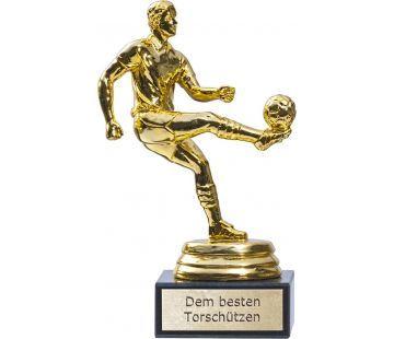 Die Siegerstatue für jeden Fussballfan