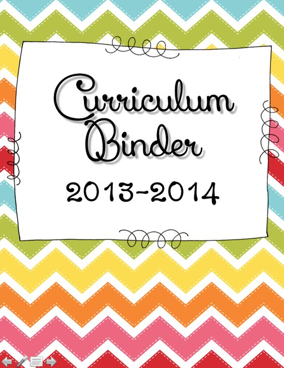 Kindergarten Calendar Binder Pages : Free this download includes curriculum binder pages to