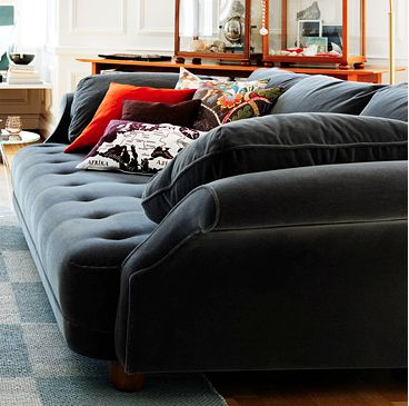 tiefe couch couch and wohnzimmer on pinterest. Black Bedroom Furniture Sets. Home Design Ideas