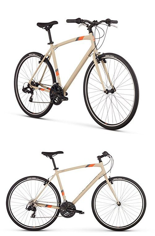 Raleigh Cadent 1 Urban Fitness Bike 19 Lg Frame Tan 19 Large Biking Workout Urban Fitness Bike