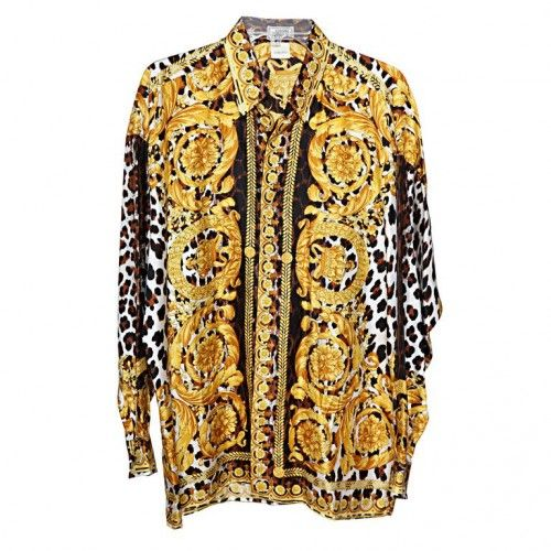 baroque vintage and gianni versace on