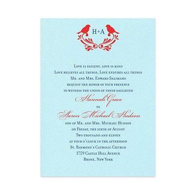 Darcie Wedding Invitations by MyGatsby.com