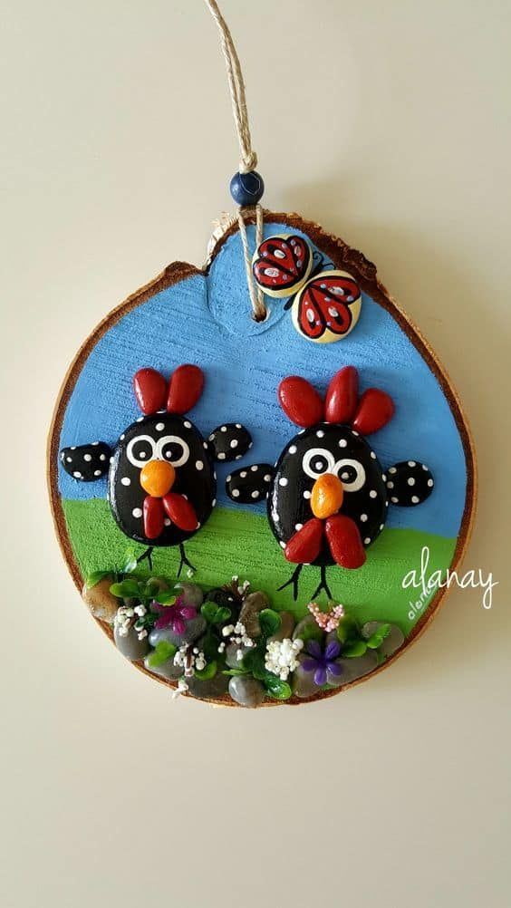 Awesome Painted Pebble Art Ideas Simple Craft Ideas Kataskeyes