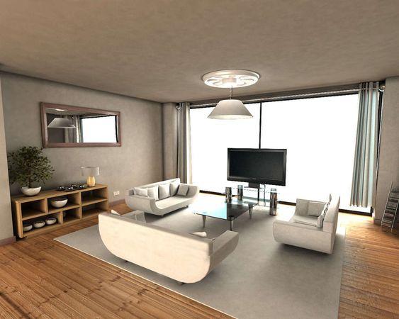 casas modernas de una planta, plano casas modernas, fachadas de casas de un piso