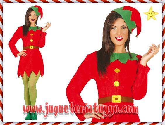 Comprar disfraz elfa happy talla 42 44 a disfraces - Disfraces infantiles navidenos ...