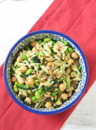 Super Greens Healthy Pasta Salad Recipe Frozen Edamame Recipe