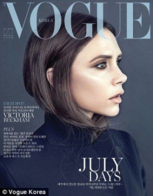 Taking over? Her latest cover for the mag comes after the launch of her first flagship store in Asia