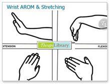 Wrist AROM and Stretching