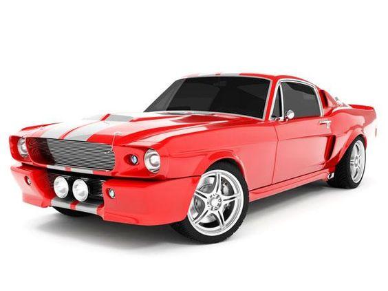 1968 Red Mustang!